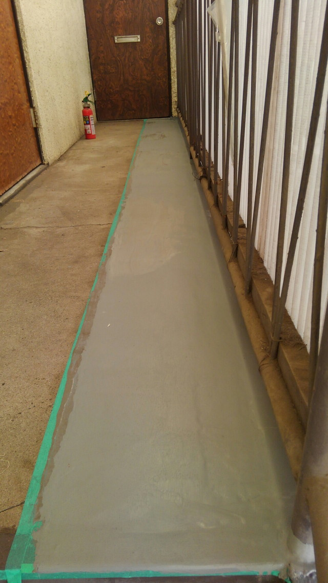 アパート雨漏り改修