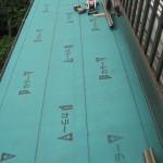 雨漏り改修、瓦棒屋根の工程