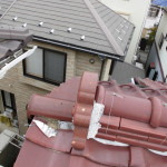 瓦からの雨漏り、診断と対応