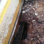 世田谷区一戸建てベランダ雨漏り