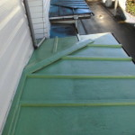 雨漏り、瓦棒屋根の役物の腐食