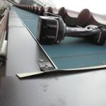雨漏りによるガルバリウム鋼板の張替え(杉並区)