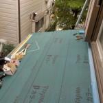 防水シートの劣化による雨漏り(杉並区)