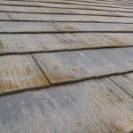 紫外線劣化で屋根修理(杉並区)