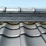 漆喰崩れによる屋根修理(杉並区)