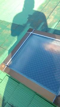 天窓からの雨漏り防止策