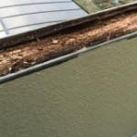 バルコニーの手すりを雨漏り修理(杉並区)
