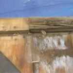 野地板の含水が原因の屋根修理(杉並区)