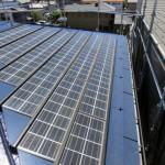 雨漏り修理[太陽光パネルの設置前点検]>新宿区