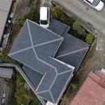 屋根修理[梅雨前にL字型屋根メンテナンス]>中野区