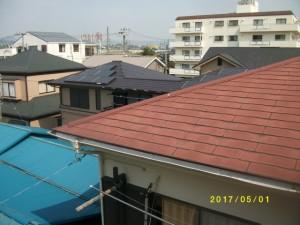 自宅の屋根に注目 屋根調査
