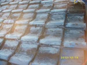 瓦屋根 屋根修理 ドローン調査