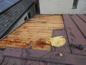屋根葺き直し 屋根補強 雨漏り修理 お早めに