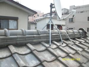 瓦屋根 屋根葺き替え 屋根葺き直し
