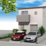 高断熱、高密度住宅の雨漏り修理 -1- (世田谷区)