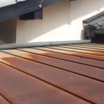 屋根勾配に関する雨漏り修理(渋谷区)