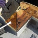 屋根修理[ベランダの手すりが雨漏りの原因に]>新宿区