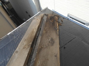 雨漏り補修 屋根補修 雨どい修理