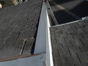 屋根はがれ 釘抜け 雨漏り 屋根修理