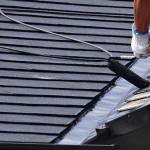 渋谷区で屋根修理の一環として塗装を