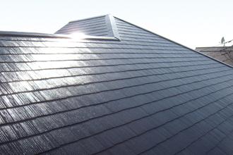 目黒区 大きな屋根の修理