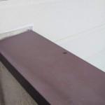 渋谷区でベランダ手摺の雨漏り修理