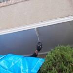 新宿区で軒天からの雨漏り修理
