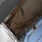 港区でバルコニー手摺の雨漏り修理