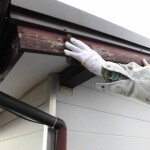 新宿区で飛び出したクギの屋根修理