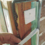 世田谷区で、シーリング材劣化による雨漏り修理 -3-
